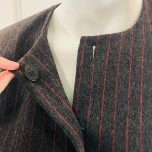 Carolina Herrera Jackets & Coats - Carolina Herrera 12 Cashmere Jacket Suit Gray B6